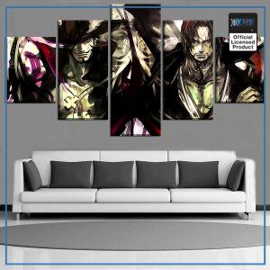 One Piece Wall Art  Shanks and Mihawk OP1505 Small / No Frame Official One Piece Merch