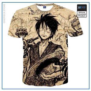 One Piece Shirt  Vintage OP1505 S Official One Piece Merch