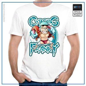 One Piece Shirt  Cyborg Franky OP1505 S Official One Piece Merch