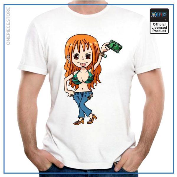 One Piece Shirt  Nami Money OP1505 S Official One Piece Merch