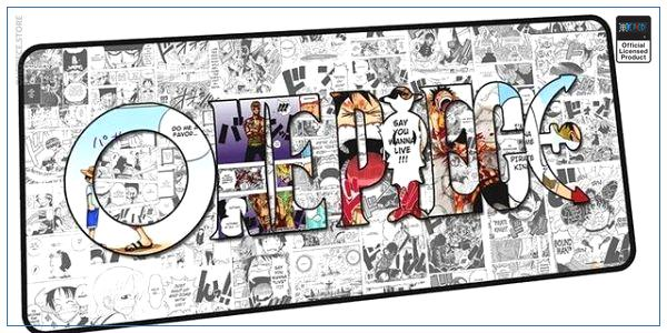 One Piece Mouse Pad  ONE PIECE (XXL) OP1505 Default Title Official One Piece Merch