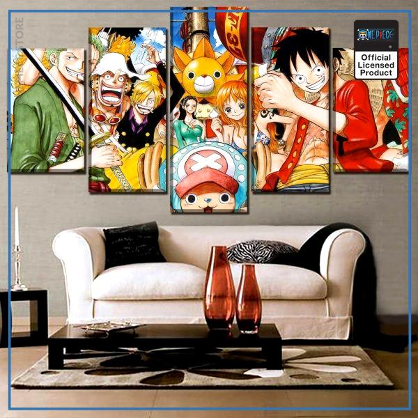 One Piece Wall Art  Straw Hat Pirates OP1505 Small / No Framed Official One Piece Merch