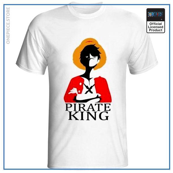 One Piece Shirt  Pirate King OP1505 S Official One Piece Merch