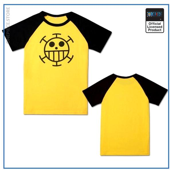 One Piece Shirt  Trafalgar Law OP1505 Yellow / M Official One Piece Merch