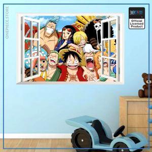 One Piece Wall Sticker  Straw Hat Crew OP1505 Default Title Official One Piece Merch
