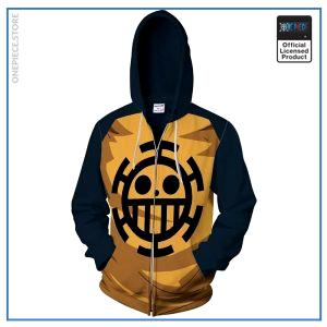One Piece Hoodie  Anime Law OP1505 S Official One Piece Merch