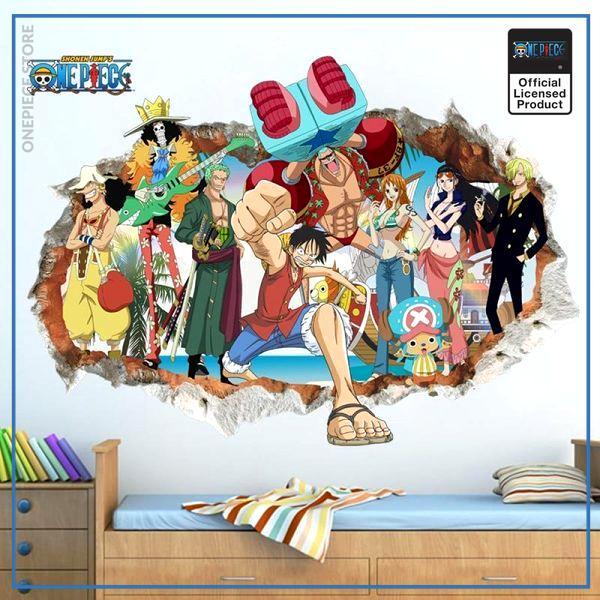 One Piece Wall Sticker  Straw Hat Pirates OP1505 Default Title Official One Piece Merch