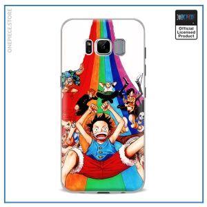 One Piece Phone Case Samsung  Rainbow Mugiwara OP1505 For Samsung S4 Official One Piece Merch