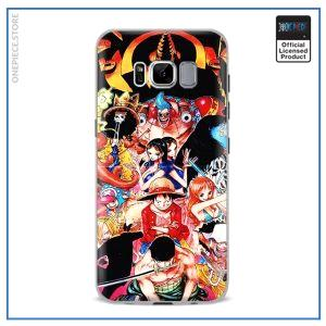 One Piece Phone Case Samsung  Straw Hat Pirates OP1505 For Samsung S4 Official One Piece Merch
