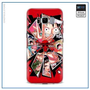 One Piece Phone Case Samsung  Luffy's Nakama OP1505 For Samsung S4 Official One Piece Merch