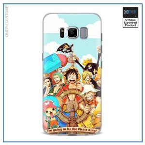 One Piece Phone Case Samsung  Mugiwara Crew OP1505 For Samsung S4 Official One Piece Merch