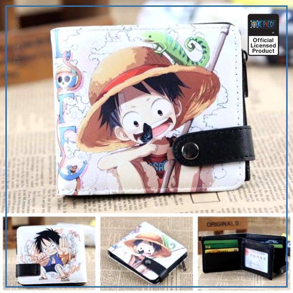 One Piece Wallet  Luffy OP1505 Default Title Official One Piece Merch