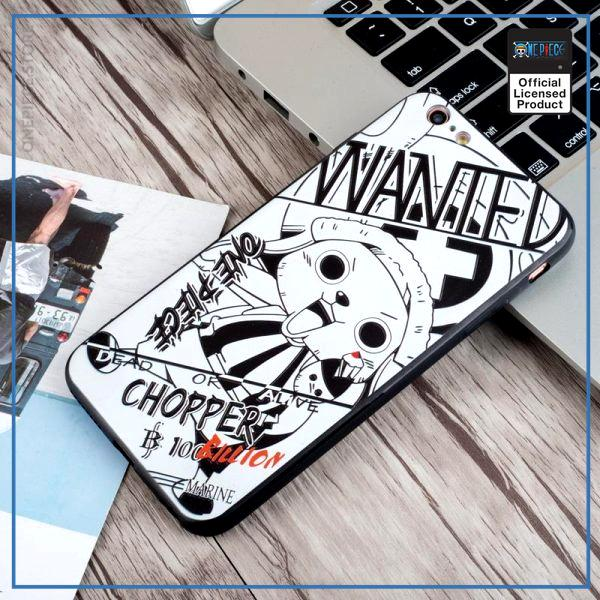 One Piece iPhone Case  Chopper Wanted OP1505 For iPhone 6 6s Official One Piece Merch