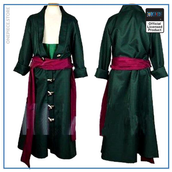 One Piece Female Cosplay  Zoro Costume (Women) OP1505 S Official One Piece Merch