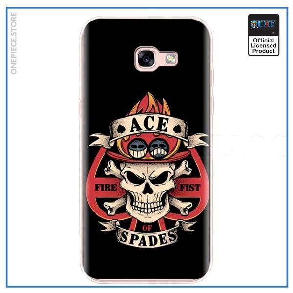 One Piece Phone Case Samsung  Ace Spades OP1505 J5 2016 Official One Piece Merch