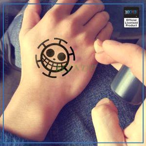 One Piece Tattoo  Trafalgar Law OP1505 Default Title Official One Piece Merch