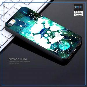 One Piece iPhone Case  Splash Straw Hat Pirates OP1505 For iPhone 5 5S SE Official One Piece Merch