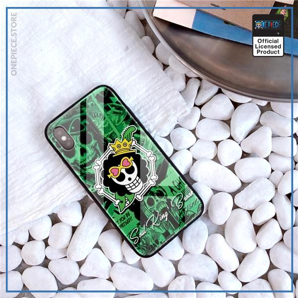 One Piece iPhone Case  Brook Jolly Roger OP1505 For iPhone 6 & 6S Official One Piece Merch