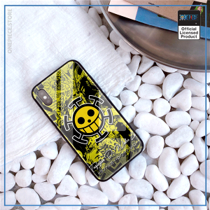 One Piece iPhone Case  Trafalgar Law Jolly Roger OP1505 For iPhone 6 & 6S Official One Piece Merch