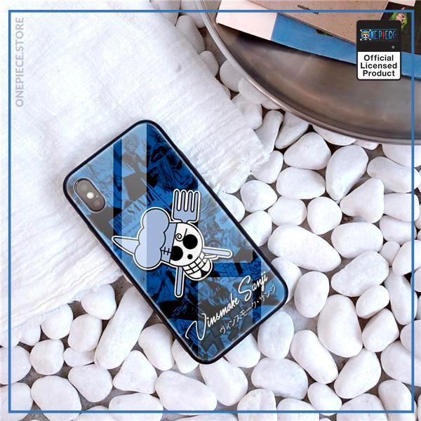 One Piece iPhone Case  Sanji Jolly Roger OP1505 For iPhone 6 & 6S Official One Piece Merch