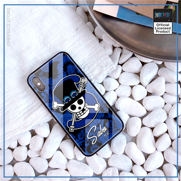 One Piece iPhone Case  Sabo Jolly Roger OP1505 For iPhone 6 & 6S Official One Piece Merch