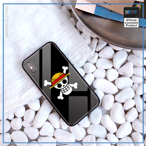 One Piece iPhone Case  Mugiwara Glass Cover OP1505 For iPhone 5 5S SE Official One Piece Merch