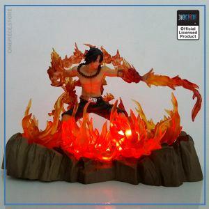 One Piece LED Lamp  Portgas D. Ace OP1505 Default Title Official One Piece Merch