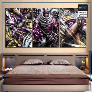 One Piece Wall Art  Sweet Commanders OP1505 30x45cm / No Frame Official One Piece Merch