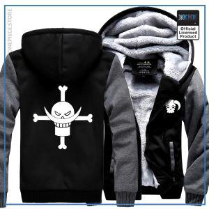 One Piece Jacket  Whitebeard (Grey & Black) OP1505 M Official One Piece Merch