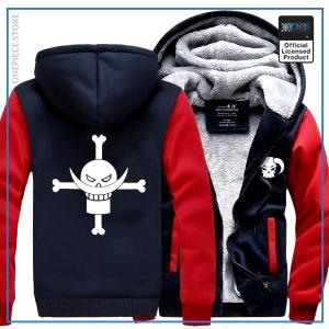 One Piece Jacket  Whitebeard (Red & Blue) OP1505 M Official One Piece Merch