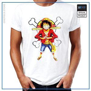 One Piece Shirt  Luffy Time Skip OP1505 S Official One Piece Merch