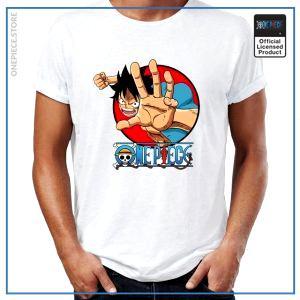 One Piece Shirt  Luffy Sabaody OP1505 S Official One Piece Merch