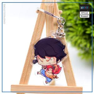 One Piece Keychain  Angry Luffy OP1505 Default Title Official One Piece Merch