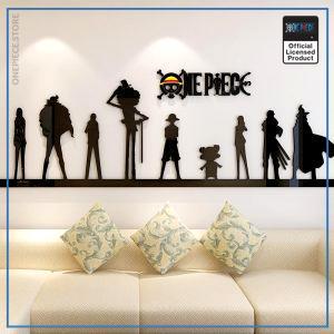 One Piece Wall Sticker  Strong World OP1505 Small Official One Piece Merch