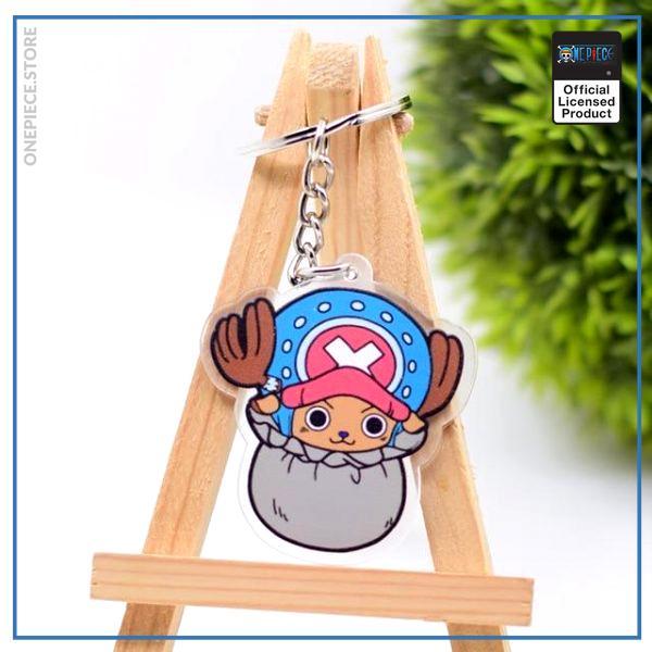 One Piece Keychain  Chopper OP1505 Default Title Official One Piece Merch