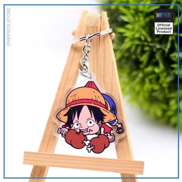 One Piece Keychain  Luffy OP1505 Default Title Official One Piece Merch