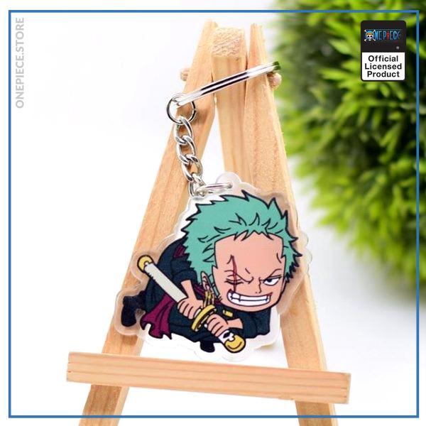 One Piece Keychain  Zoro OP1505 Default Title Official One Piece Merch