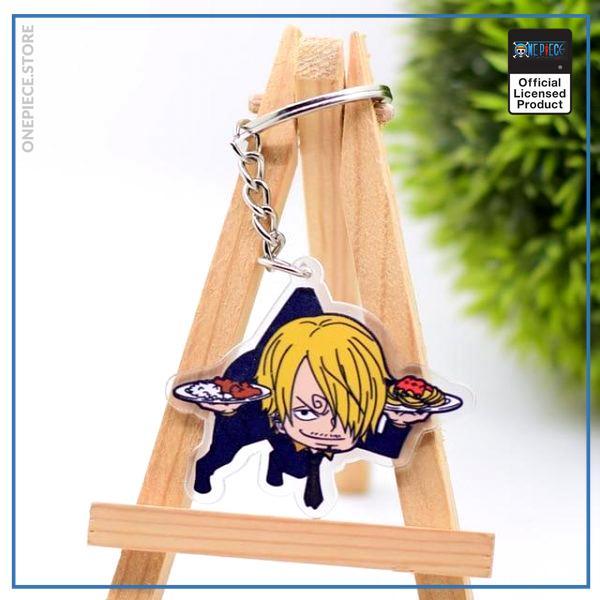 One Piece Keychain  Sanji OP1505 Default Title Official One Piece Merch