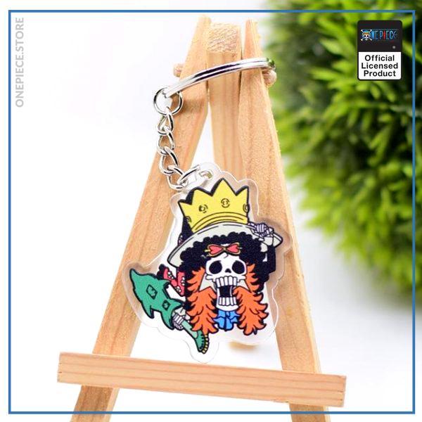 One Piece Keychain  Brook OP1505 Default Title Official One Piece Merch