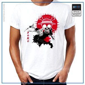 One Piece Shirt  Zoro Oni Giri OP1505 S Official One Piece Merch