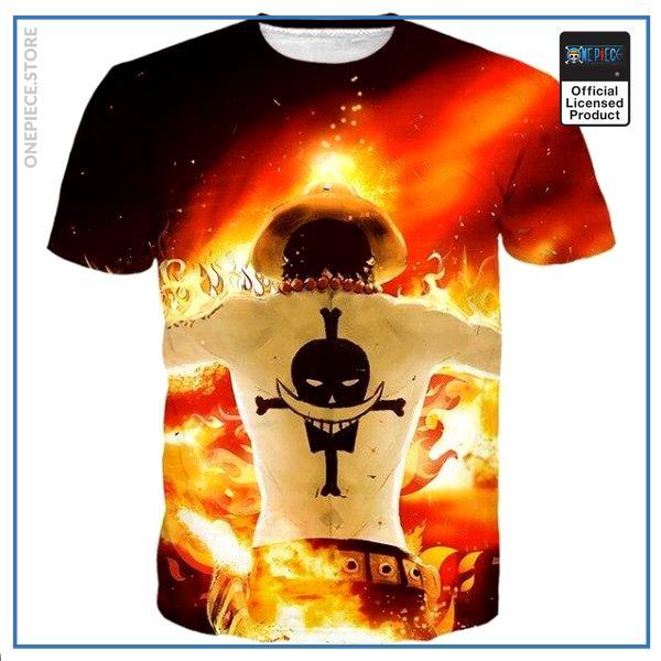 One Piece Shirt  Gol D. Ace OP1505 S Official One Piece Merch