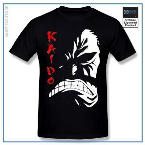 One Piece Shirt  Kaido OP1505 Black / S Official One Piece Merch