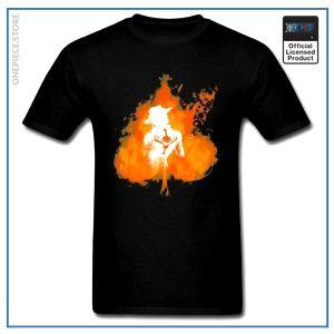 One Piece Shirt  Fire Fist Ace OP1505 S Official One Piece Merch
