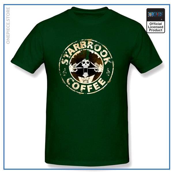 One Piece Shirt  Soul King Starbrook OP1505 Dark Green / S Official One Piece Merch