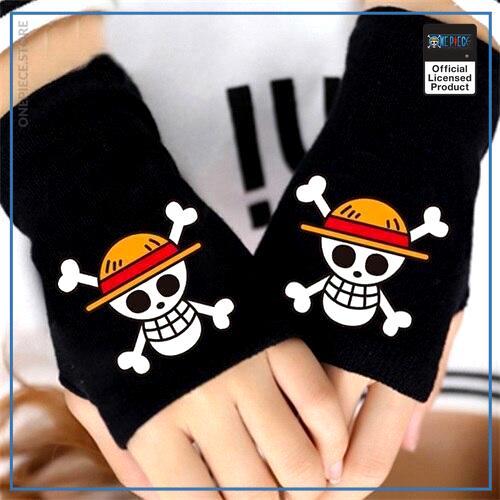 One Piece Gloves  Straw Hat Emblem OP1505 Default Title Official One Piece Merch