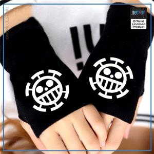 One Piece Gloves  Law Jolly Roger OP1505 Default Title Official One Piece Merch