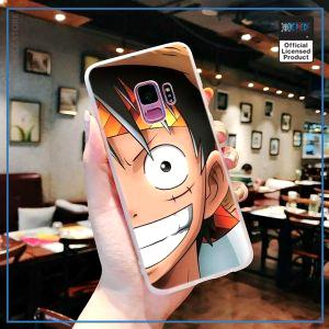 One Piece Phone Case Samsung  Smiling Luffy OP1505 for Samsung S6 Official One Piece Merch