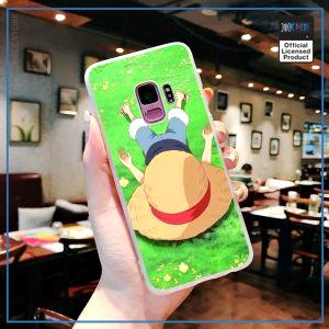 One Piece Phone Case Samsung  Sleeping Luffy OP1505 for Samsung S6 Official One Piece Merch