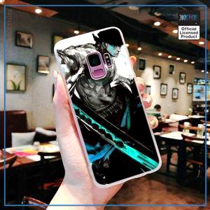 One Piece Phone Case Samsung  Zoro (Blue) OP1505 for Samsung S6 Official One Piece Merch