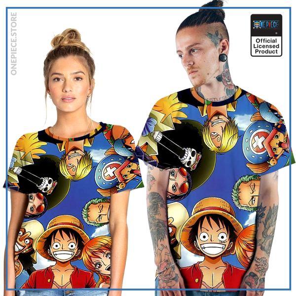 One Piece Shirt  Couple Shirt OP1505 S Official One Piece Merch
